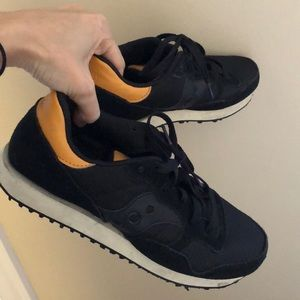 Saucony Trainer Sneakers, Black 8H / 8.15 /  8 1/2